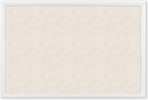 U Brands Cork Linen Bulletin Board - Large Corkboards