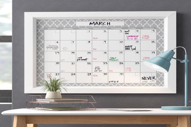 Whiteboard Calendars